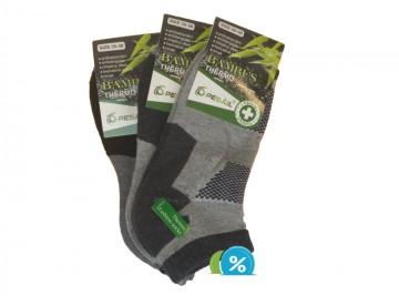 7f7b205f023 Dámské bambusové kotníkové termo ponožky Pesail BW4559 - 3 páry